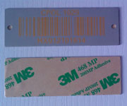 Asset Identification Barcode Labels