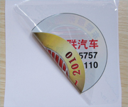 Clear Static Cling Car Window Labels