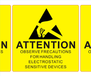 ESD Attention Labels