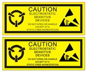 ESD Caution Labels