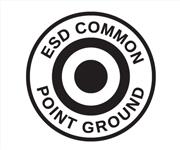 ESD Common Point Ground Symbol