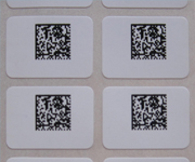 High Temperature PCB Bar Code Labels