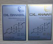 Metallized Matte Silver Polyester Medicine Bottle Labels