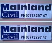 PVC Vinyl Bumper Sticker