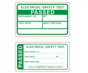 Passed PAT Testing Labels