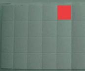 Square Water Indicator Sticker