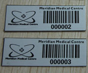 Stainless Steel Barcode Label