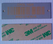 Stainless Steel Barcode Tags