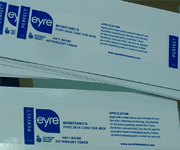 Synthetic Paper Cosmetic Bottle Labels