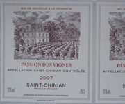 Synthetic Paper Wine Labels
