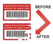 Ultra Destructible Vinyl Labels