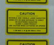 Vinyl Waterproof Stickers